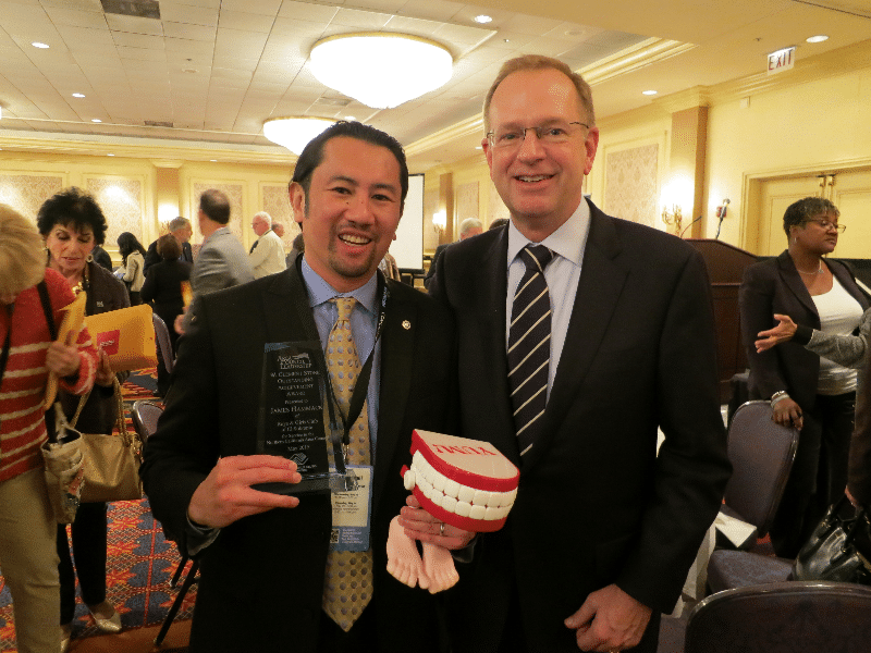 Chief Nerd Jim with Jim Clark, the BGCA National CEO.