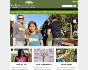 Richmond Trees nerd crossing