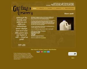 gilt edge old website