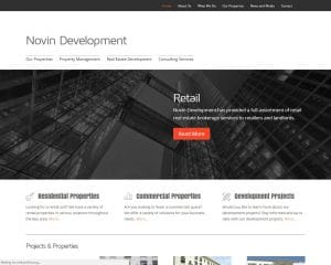 novin development before